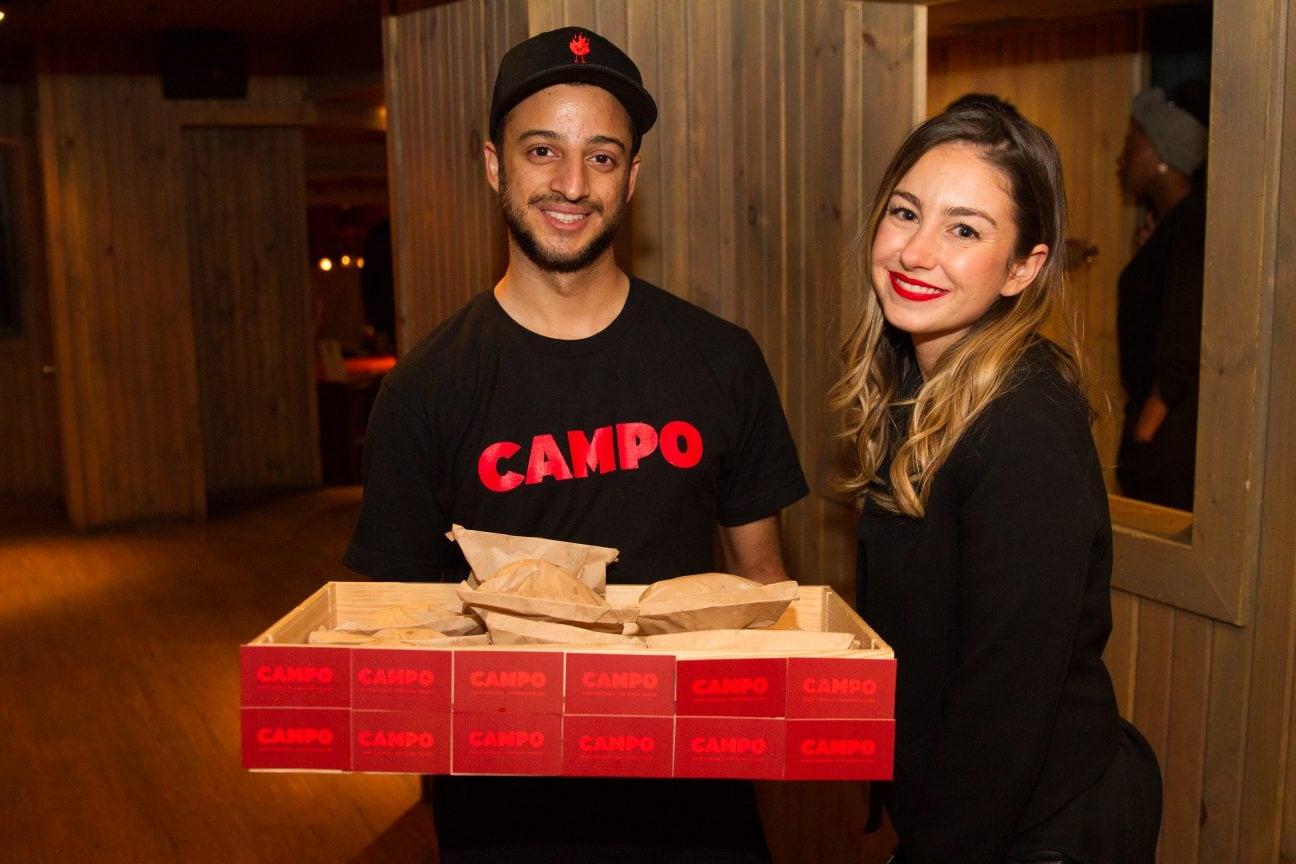 Sandra Ferreira et l'équipe de Campo !